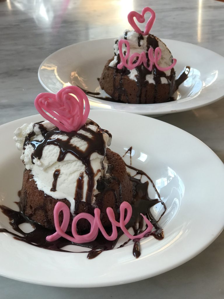 lava cake for two