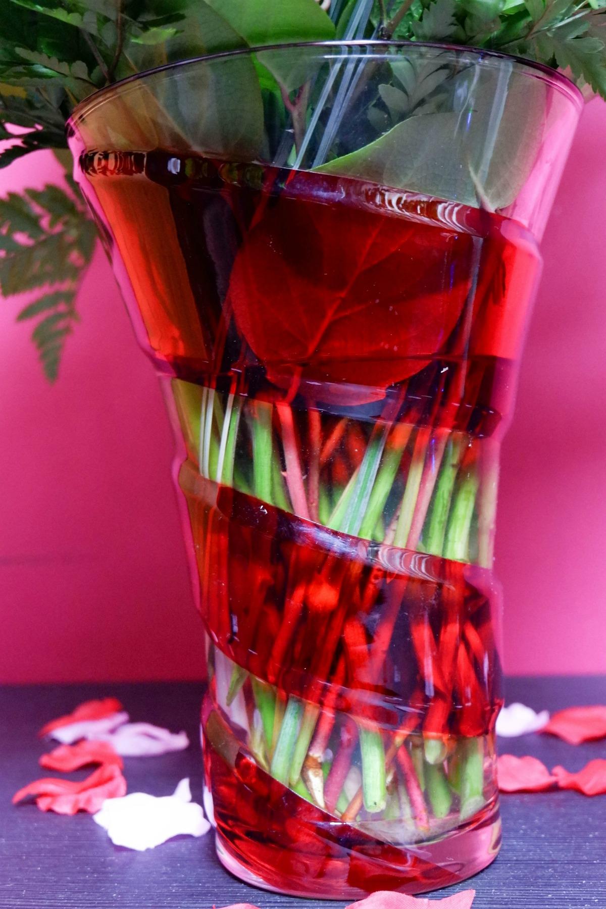 swirling desire vase
