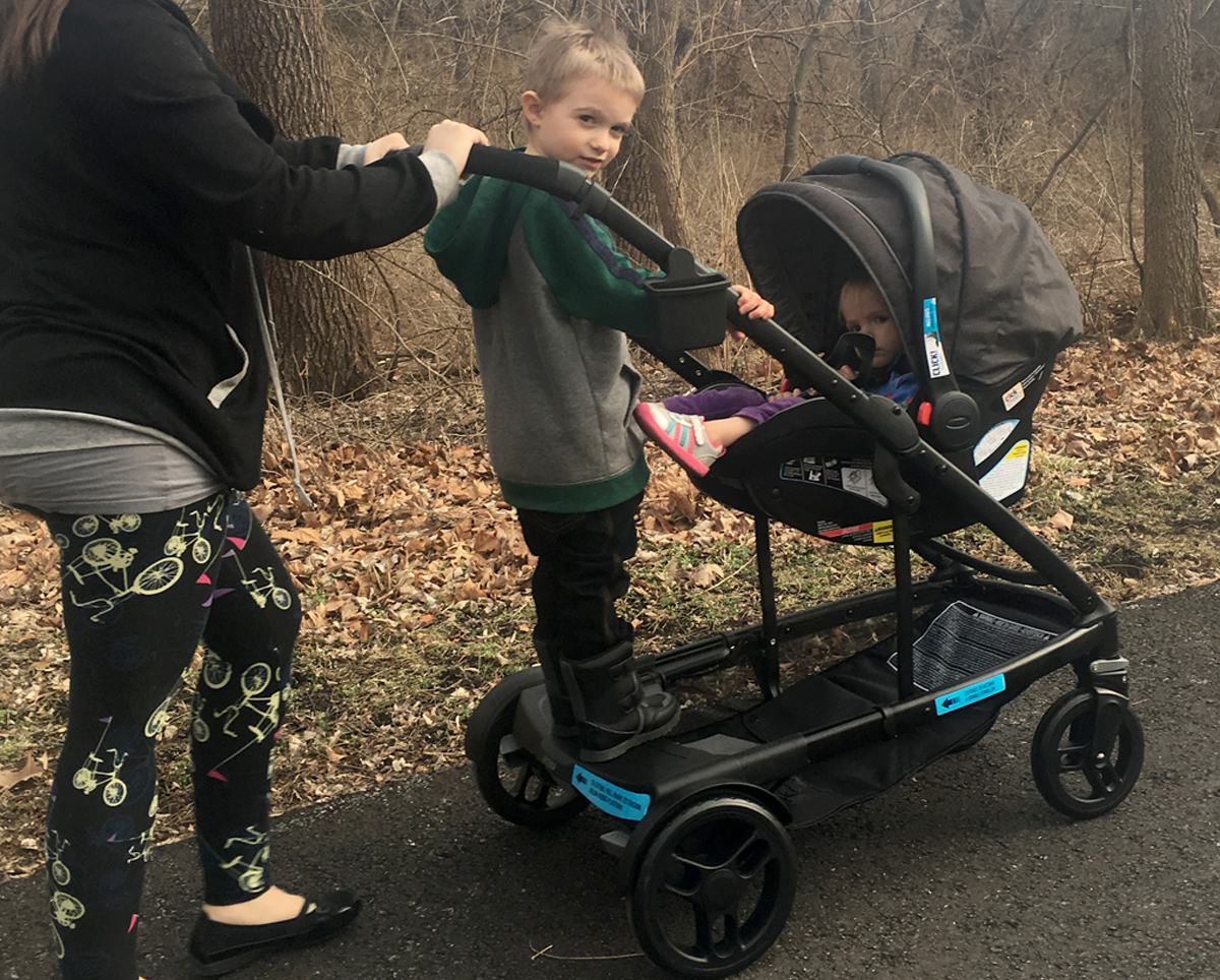 Graco Uno2duo Click Connect Travel System Review On