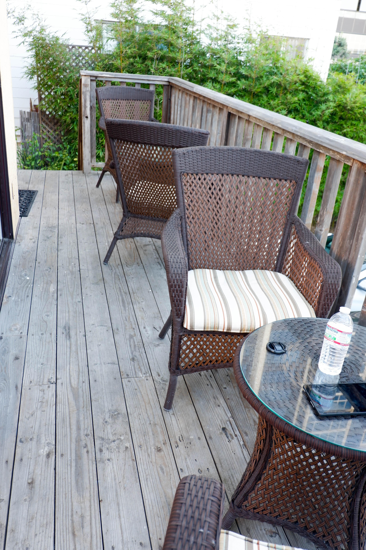 Pantai Inn 3 bedroom suite deck