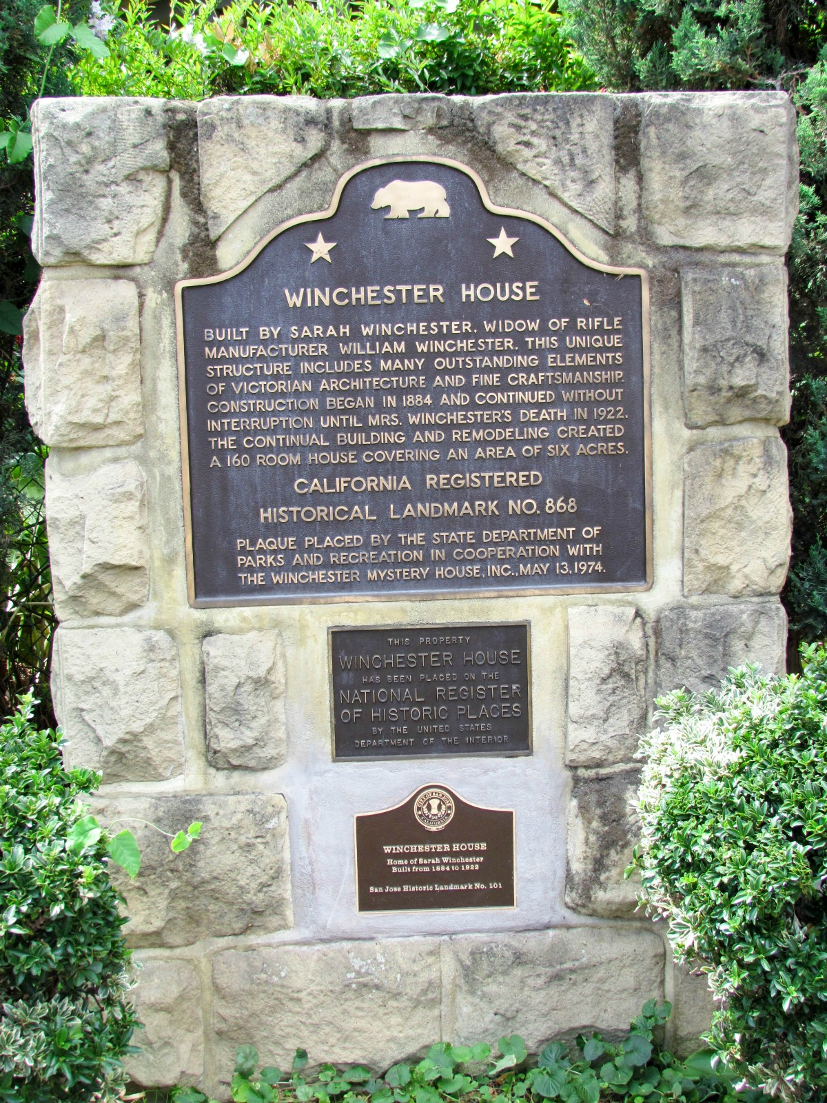 Winchester House in San Jose - a tourist spot to check out
