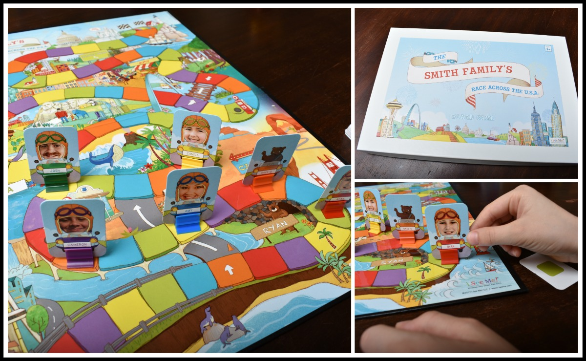 personalized board game