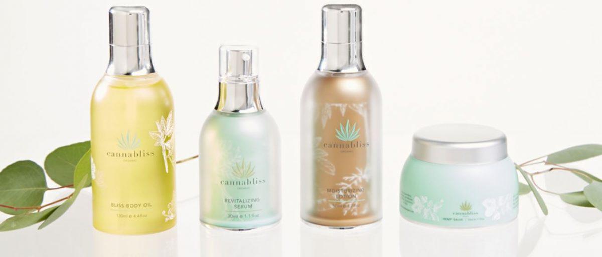 Cannabliss organic skin care made from quality full spectrum hemp oil