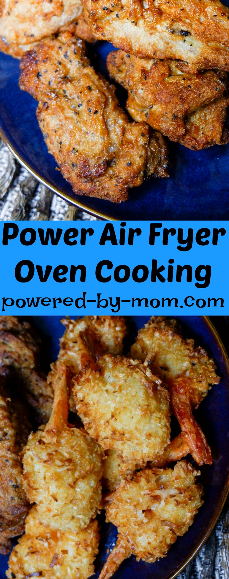 Power Air Fryer Oven Air Fry, Rotisserie & Dehydrate To Perfec
