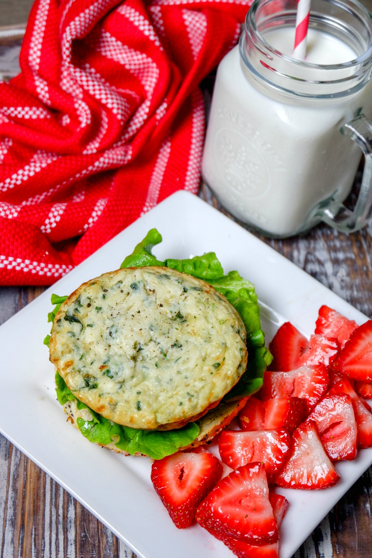 Quick and easy breakfast recipes with Burnbrae Farms Egg Bakes Crustless Quiche