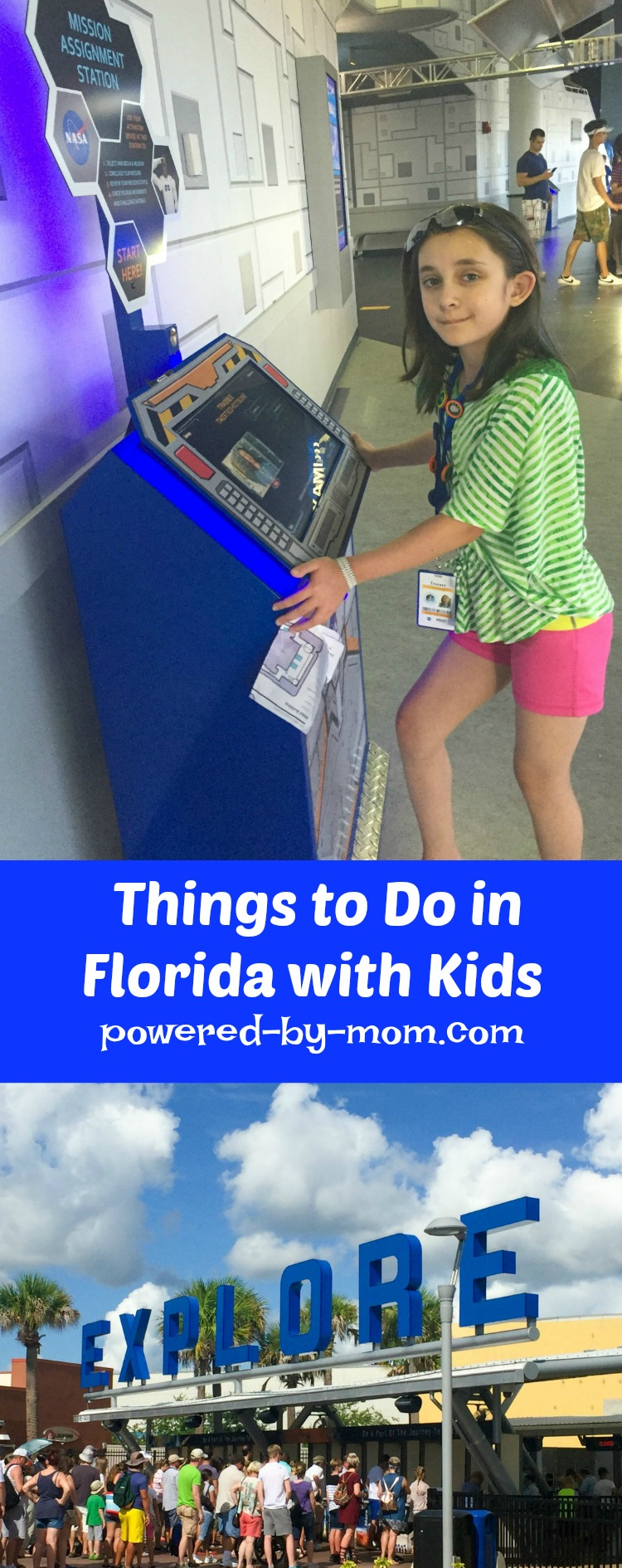 Florida vacation with kids