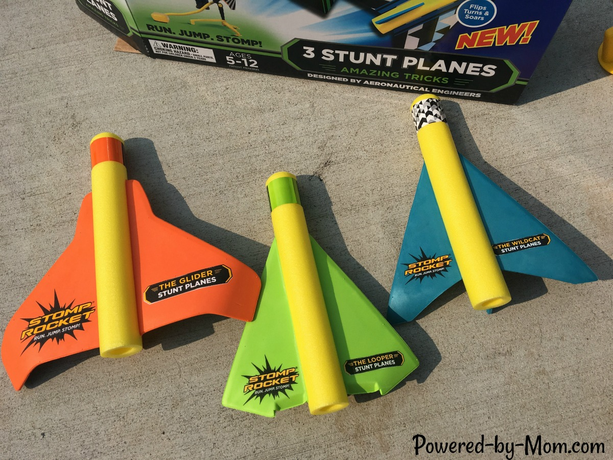 Stomp Rocket - Powered by Mom