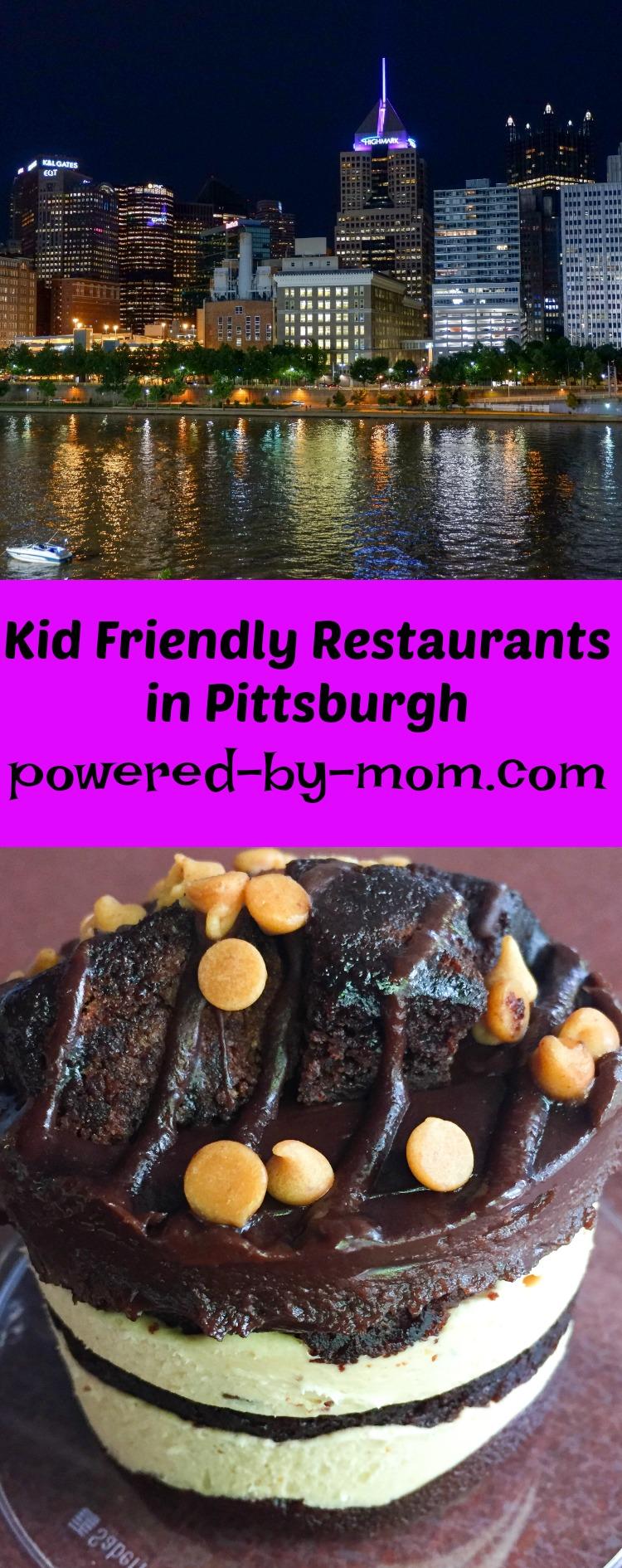 kid-friendly restaurants in Pittsburgh