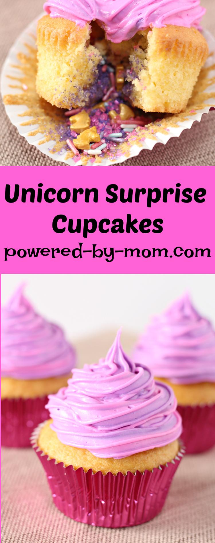 unicorn cupcakes pin