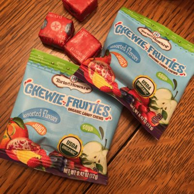 Guilt free snacks – organic candy
