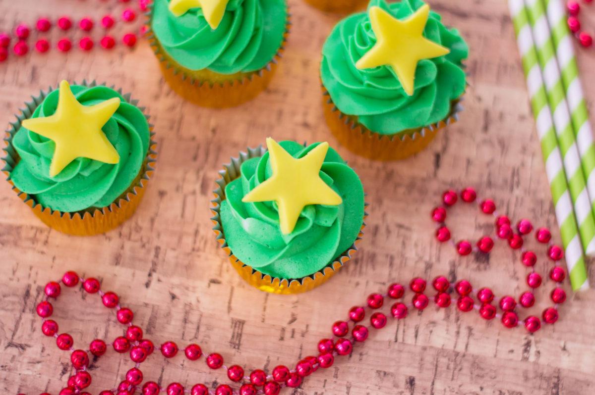 holiday cupcakes