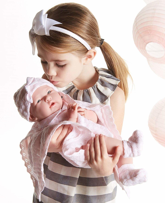 life-like baby doll