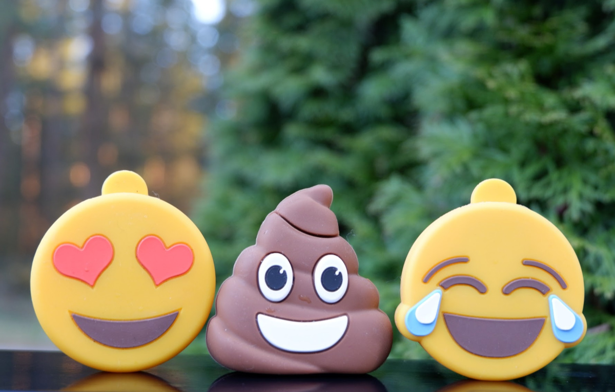 emoji flash drives