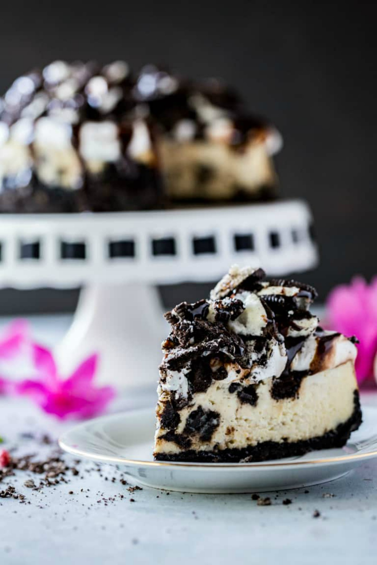 Instant Pot Cheesecake With Oreos