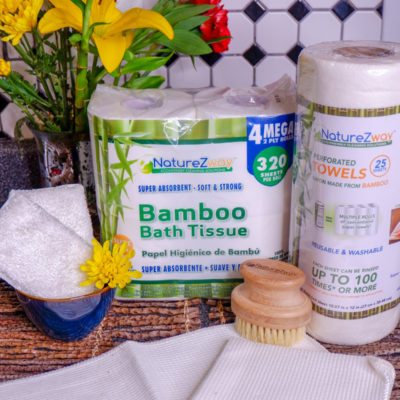 Go Green with NatureZway Bamboo Products