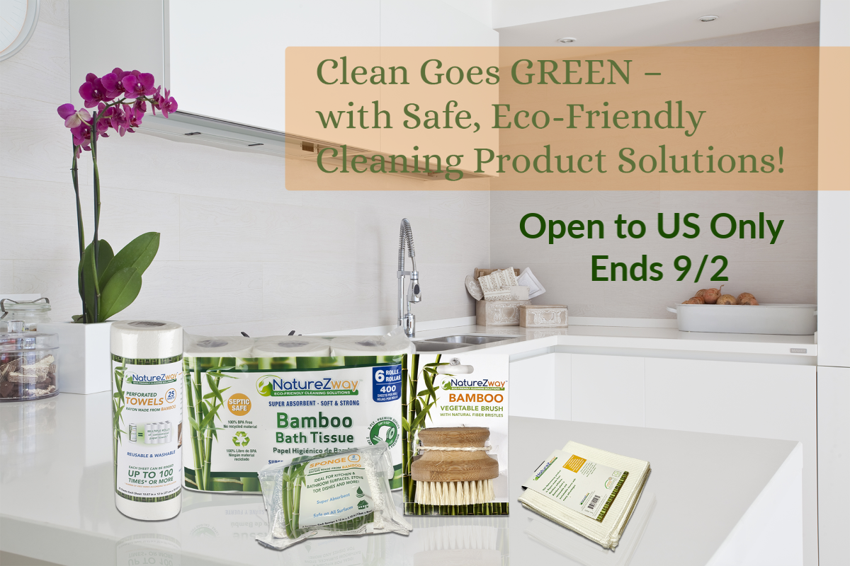eco-friendly bamboo cleaning products
