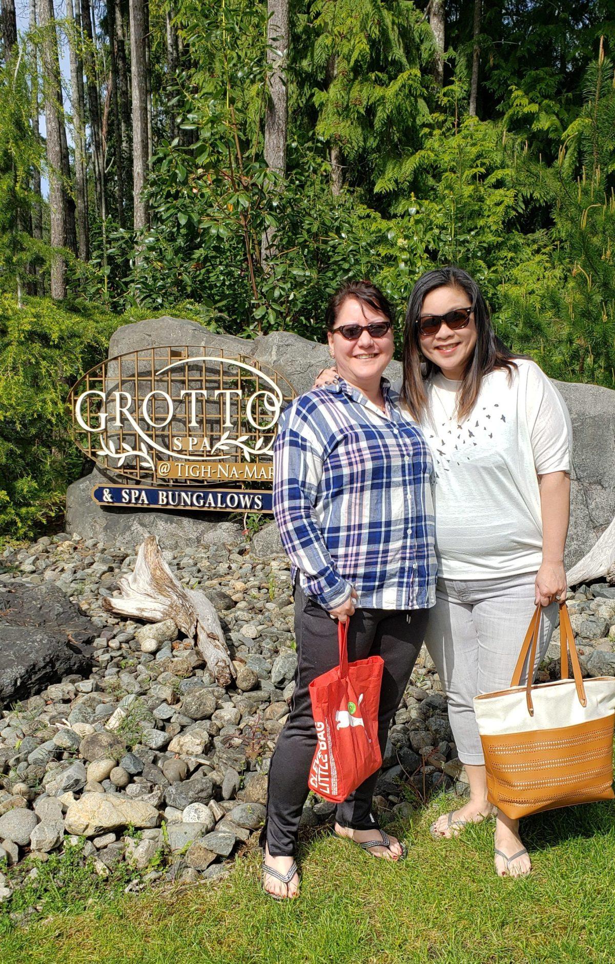 grotto spa vancouver island spa