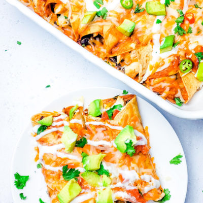 Freezer-Friendly – Cheesy Chicken Enchiladas Recipe