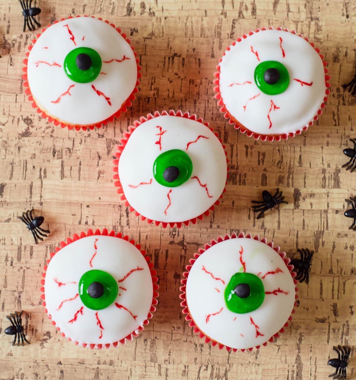 Halloween Eyeballs Easy Halloween Cupcakes Recipe
