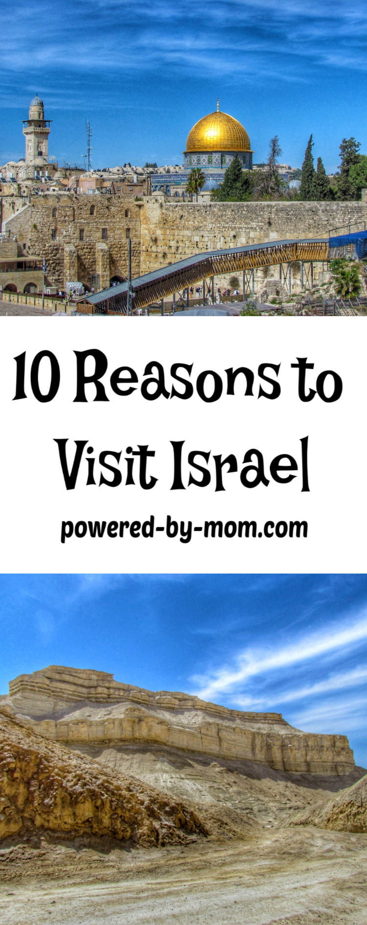 Have you ever dreamed of taking a vacation to visit Israel? This country is a place rich in history and great beauty. Learn about ten great reasons to head there on your next adventure.