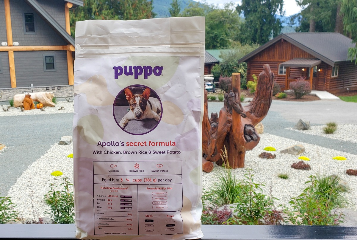 puppo personalized dog food
