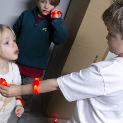 Get the Whole Family Moving with Glowing Games