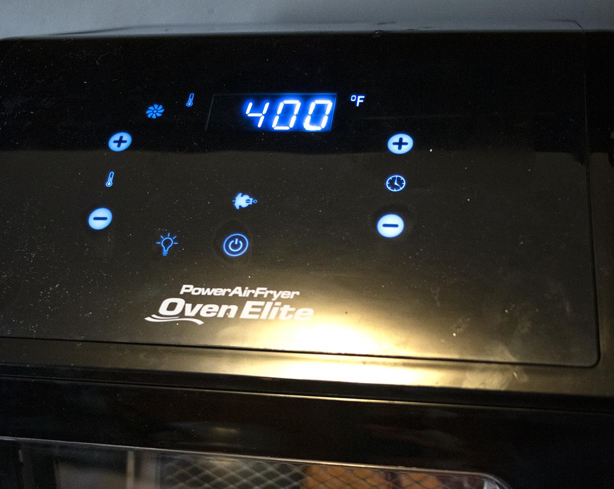 Power Air Fryer Oven Elite Healthy Crispy Food