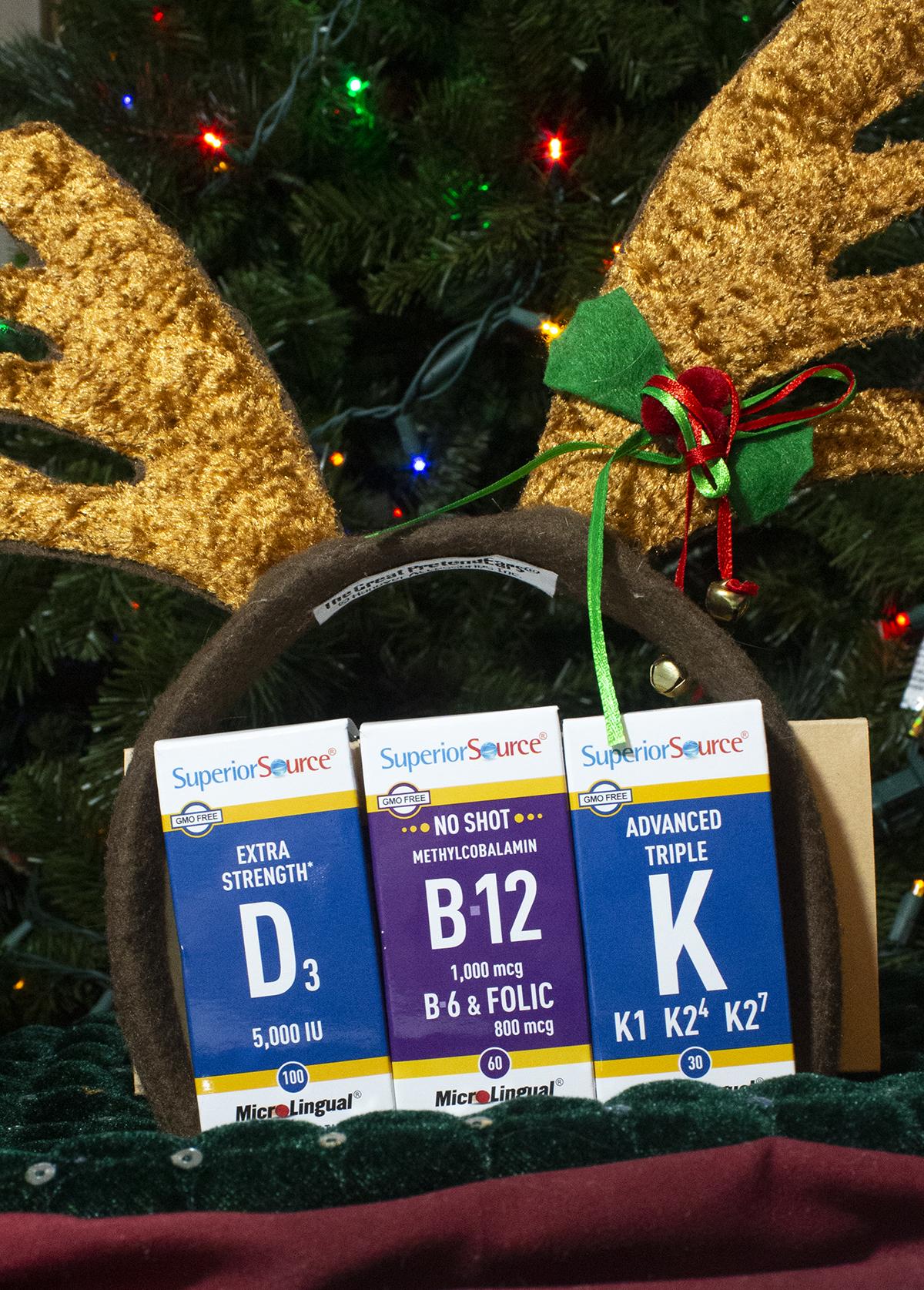 MicroLingual Vitamins Holiday Health