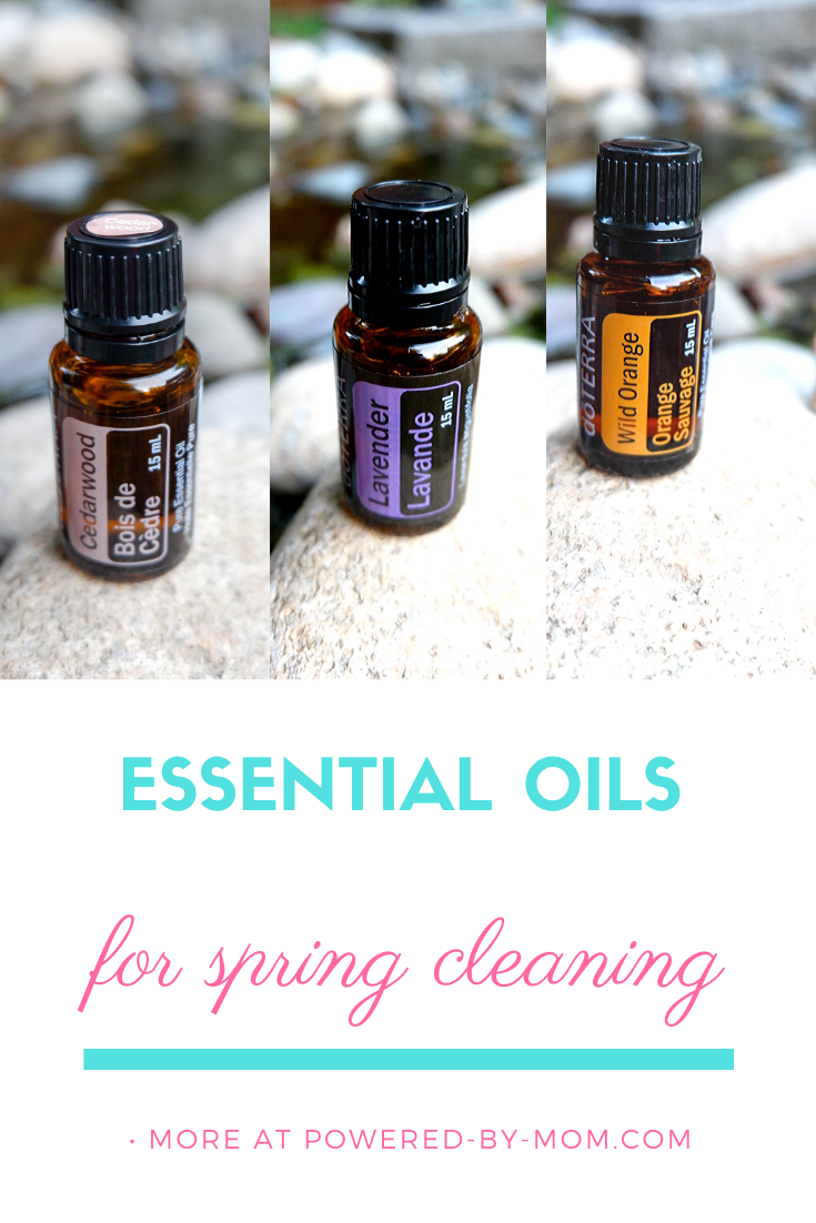 doterra essential oils for spring cleaning spray bottle blends