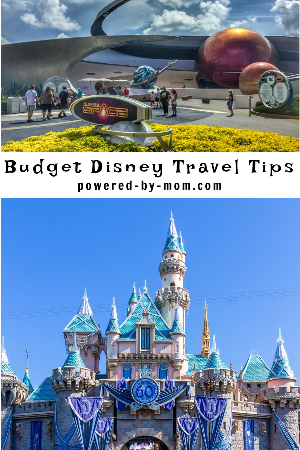 Budget Disney Travel Tips PIN