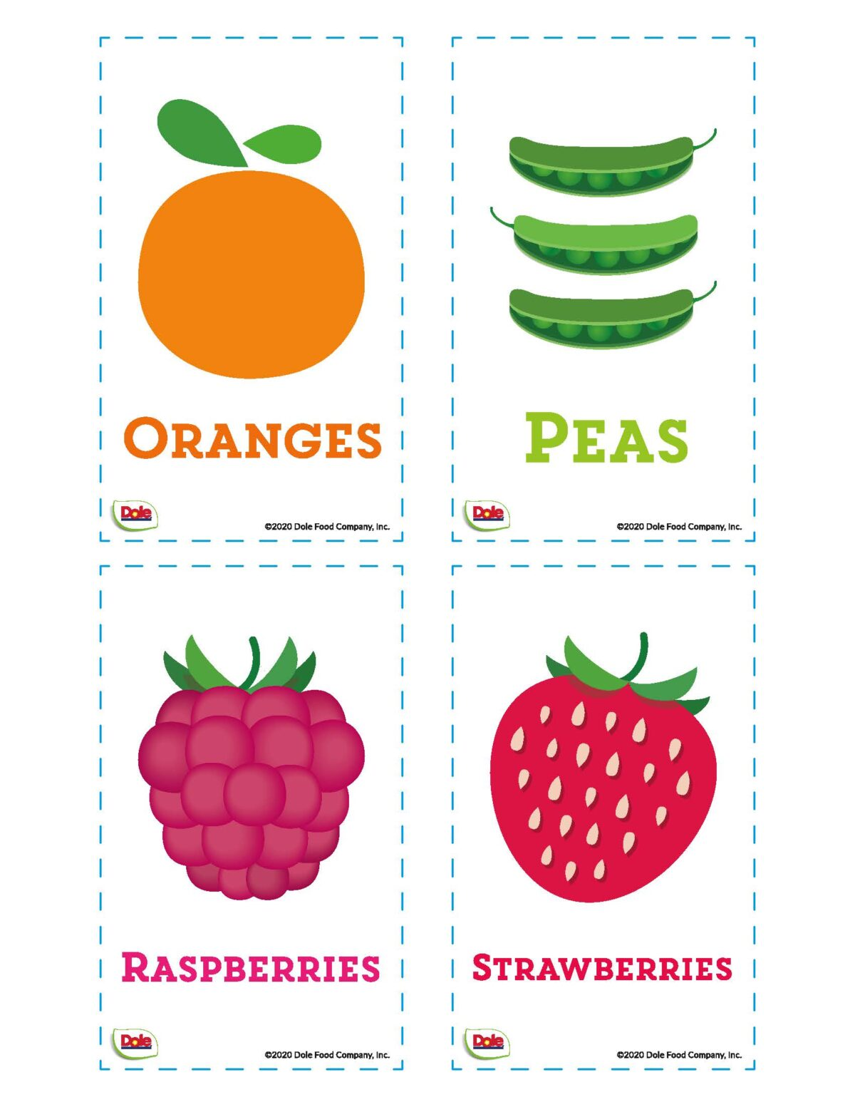 fruits and vegetables activity sheets