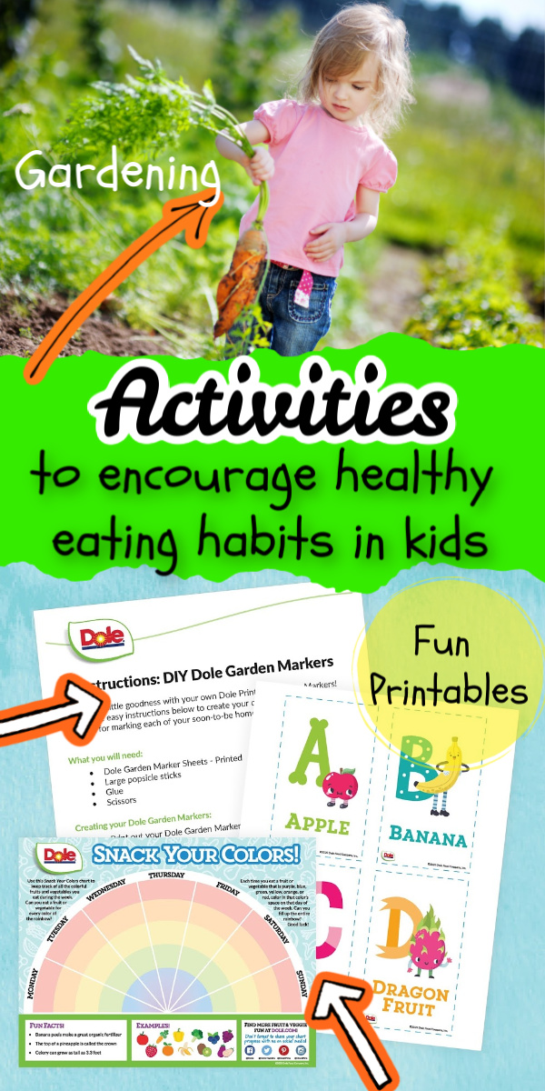 Check out these great ways to encourage healthy eating habits in kids! Tons of ideas to get them excited about healthier food choices.