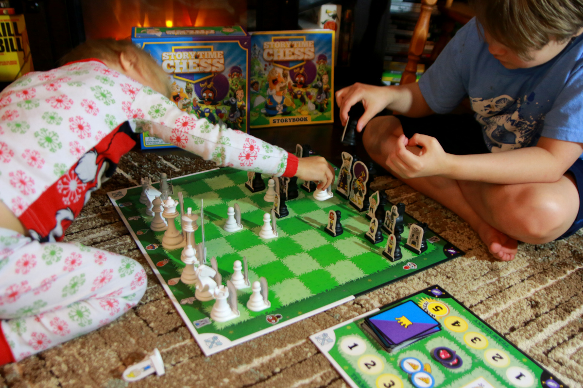 chess with kids