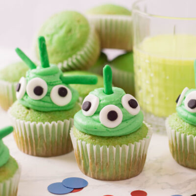 Fun and Easy Alien Cupcakes Recipe