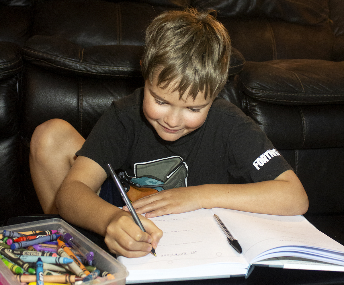 Journaling with Kids to Bond as a Family