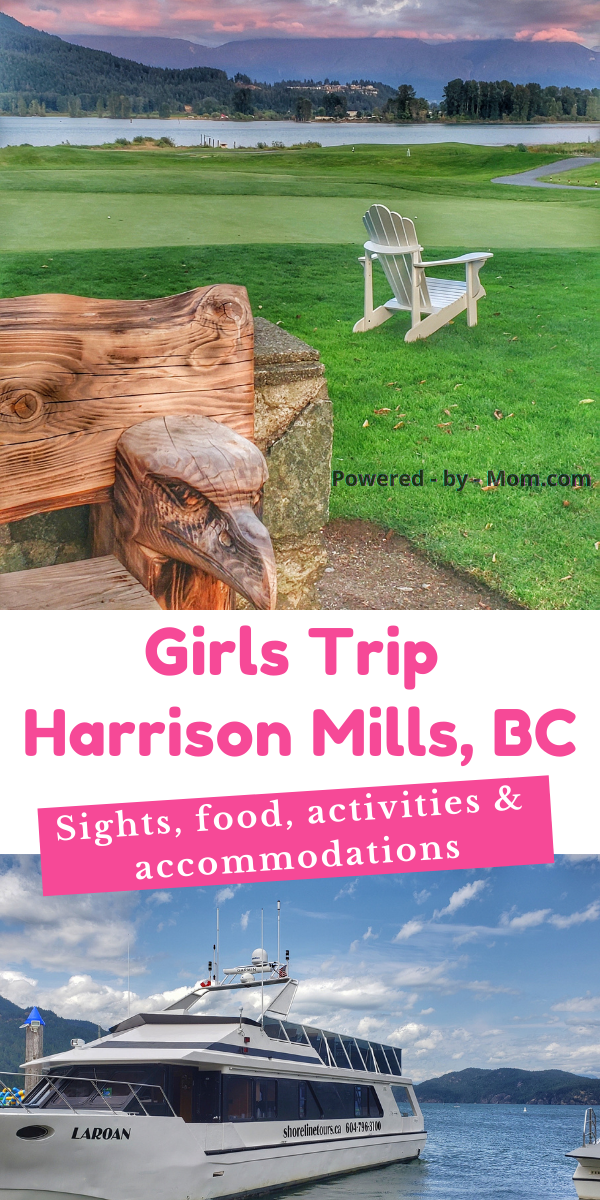 Follow our journey and enjoy this list of Girls Trip Ideas for Harrison Mills featuring the Sandpiper Resort and more!