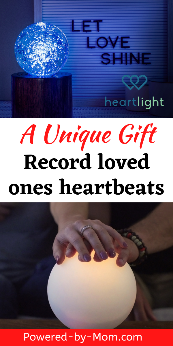 Remember loved ones this holiday season and beyond by using this amazing new gift idea! A unique but simple way to remember and feel connected to a loved one no matter where they are with Heartlight.