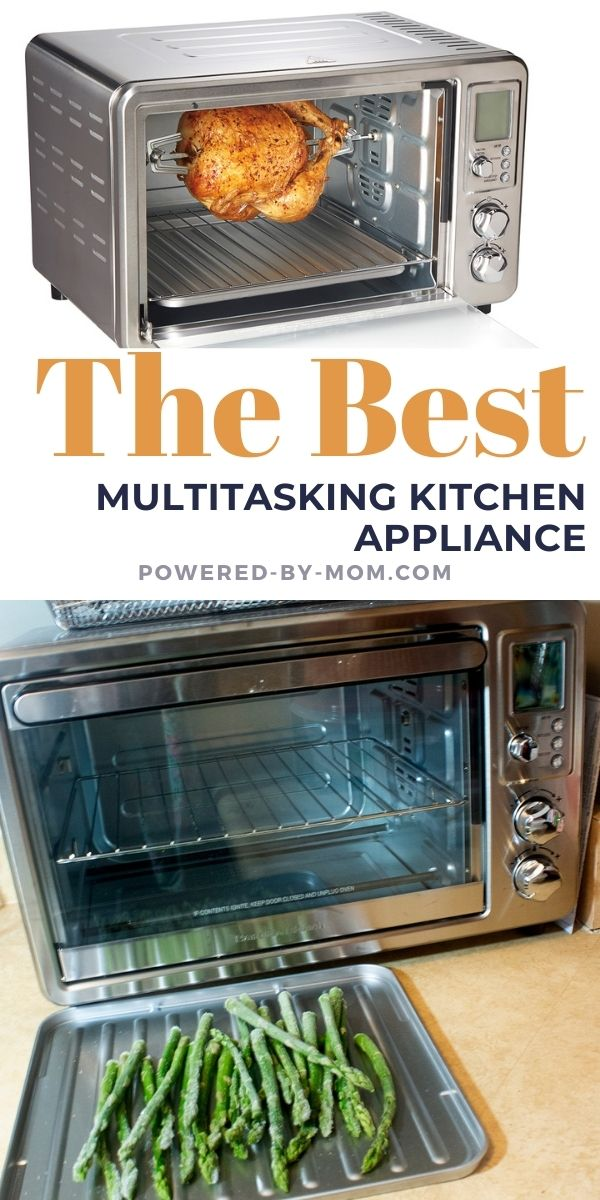 Hamilton Beach multitasking kitchen appliances, like this Sure-Crisp Toaster and Air Fryer Oven, has made everything so much easier.