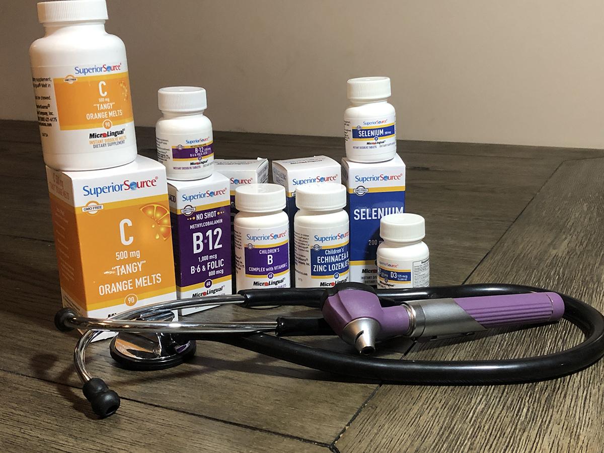 Vitamins Support Immune Health