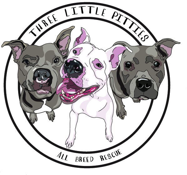 three little pitties
