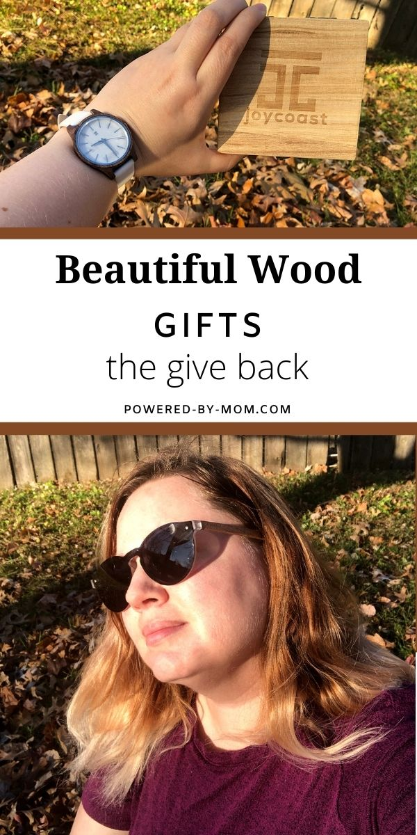 Gifts that give back in some way that are special. Joycoastinspires you to wear a bit more wood in your everyday life and to help give back.