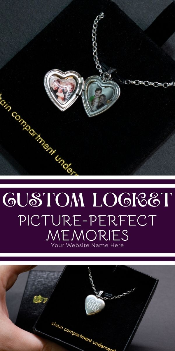 Enjoy the gift of a custom locket with laser engraved photos, engraved messages and many other options to make it a unique & beautiful gift.