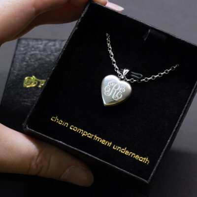 Custom Locket for Picture Perfect Memories