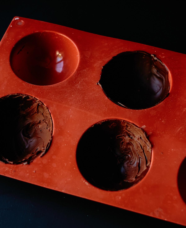 magic ball chocolate mold