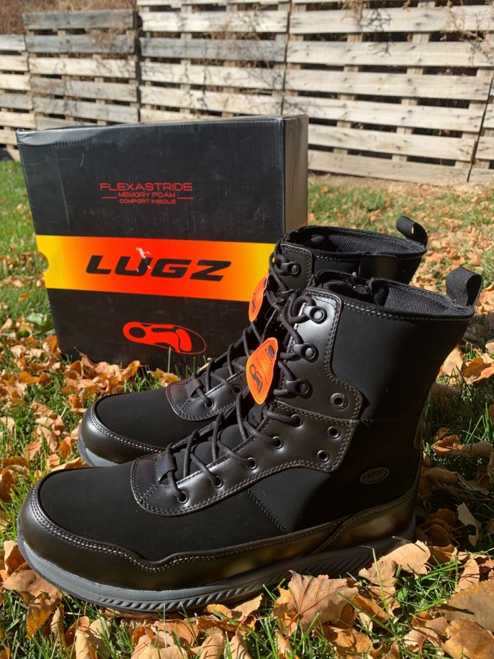 Lugz Work Boots without Steel Toes - Powered by Mom