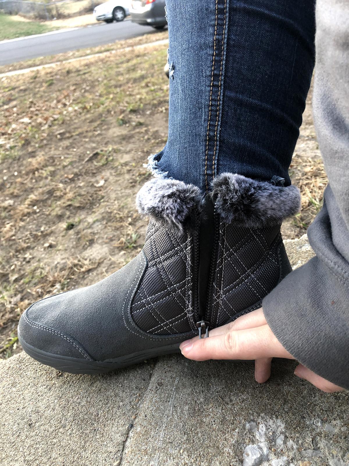 Custom Comfort in a Weatherproof Women's Boot