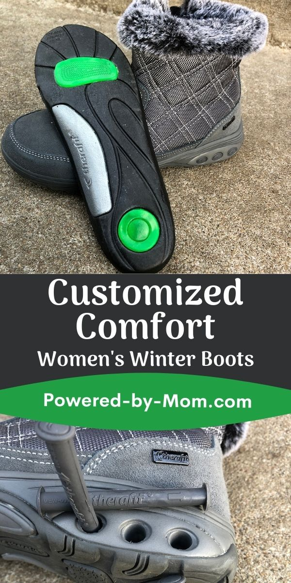 The cold, snow, and ice will inevitably come. This year be prepared with the custom comfort of Barbara Boots from Therafit.