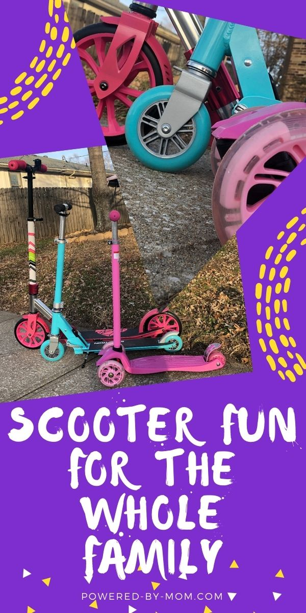 Ride together as a family with scooters made for everyone and every need. Get out, get exercise, and have fun.