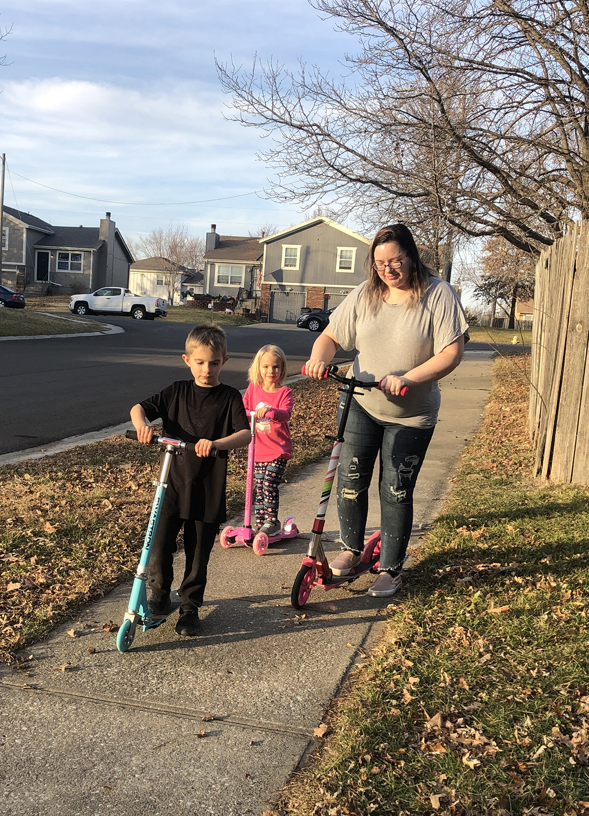 Ride Together with Scooters for the Whole Family