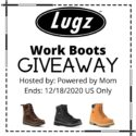 Lugz Work Boots Giveaway - Powered by Mom